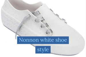 Nonnon white shoe style